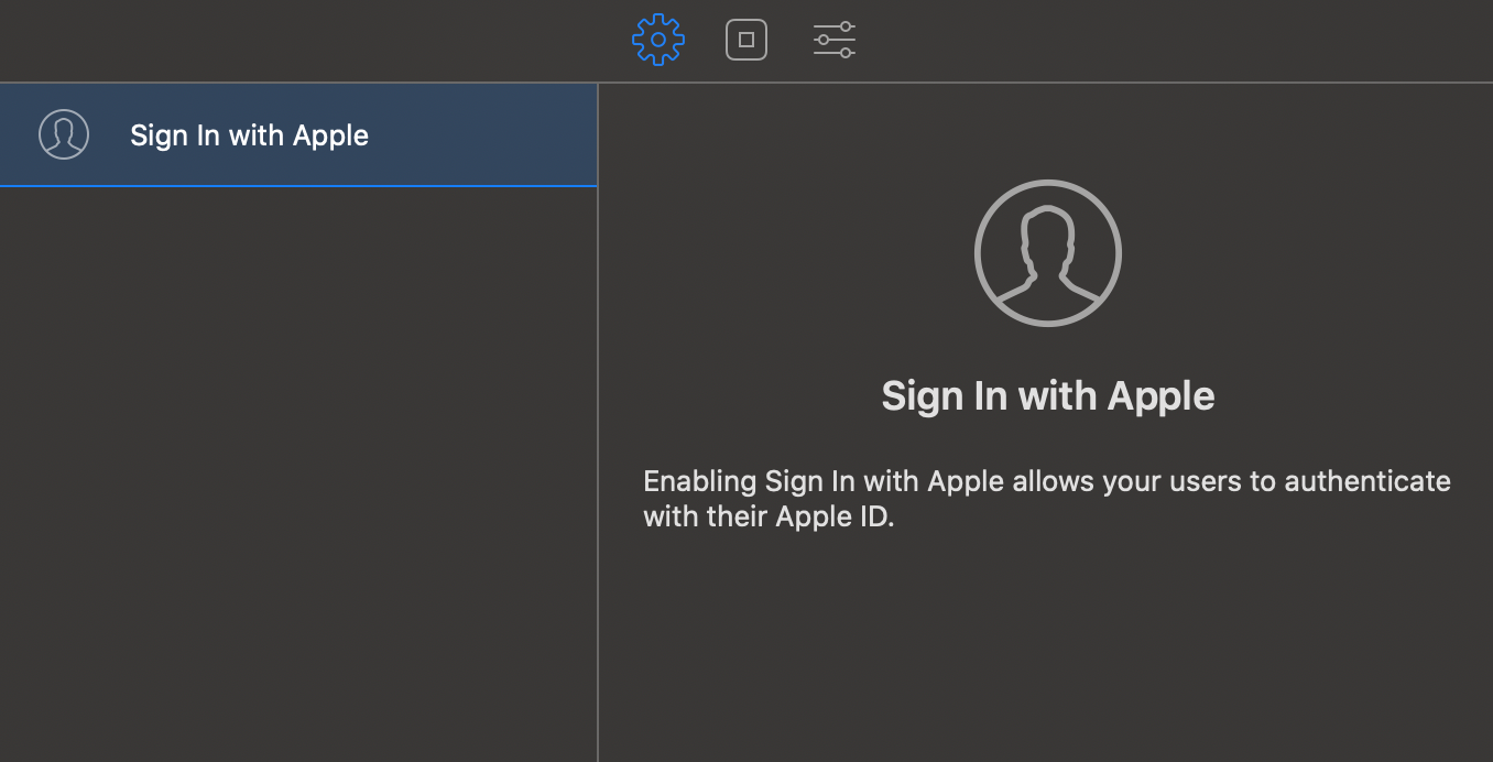 sign-in-apple-xcode