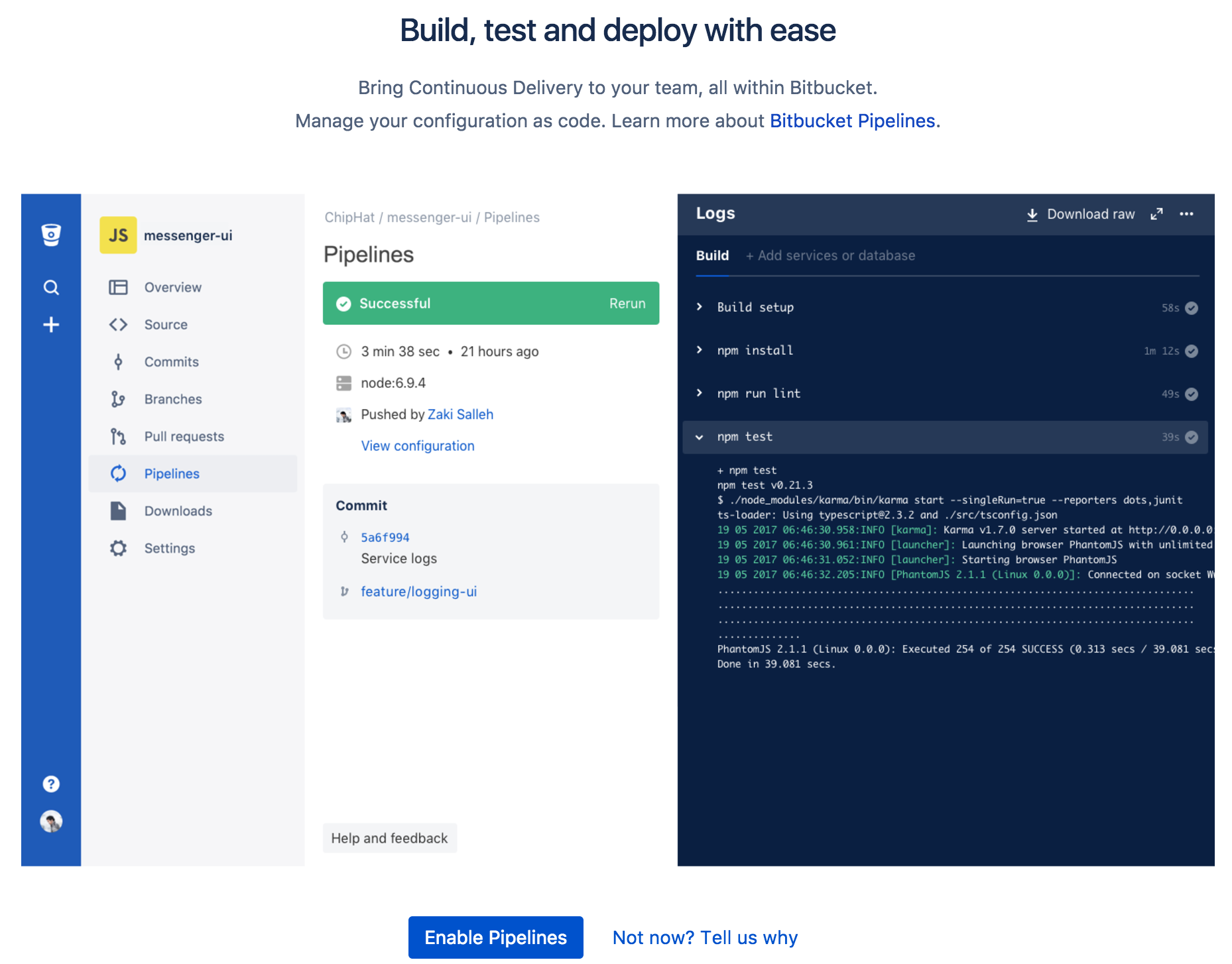 Build your Android app with Bitbucket Pipeline and HockeyApp
